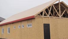 Строительство дома по проекту Лервик в Красноярске